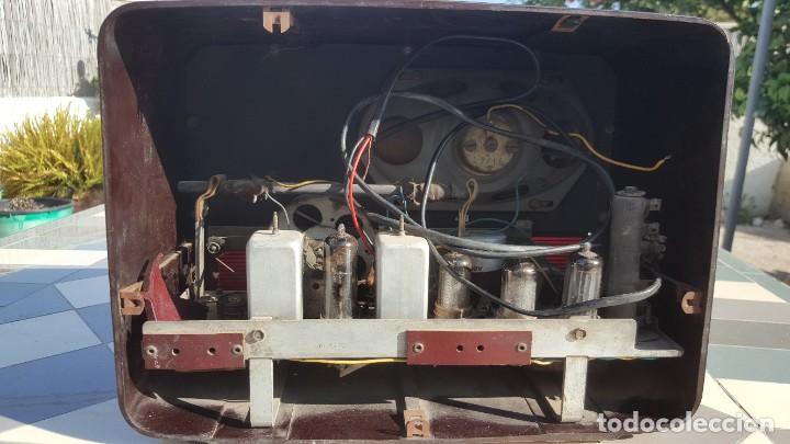 Radios de válvulas: Radio antigua baquelita de válvulas Ecko - Foto 11 - 194347035