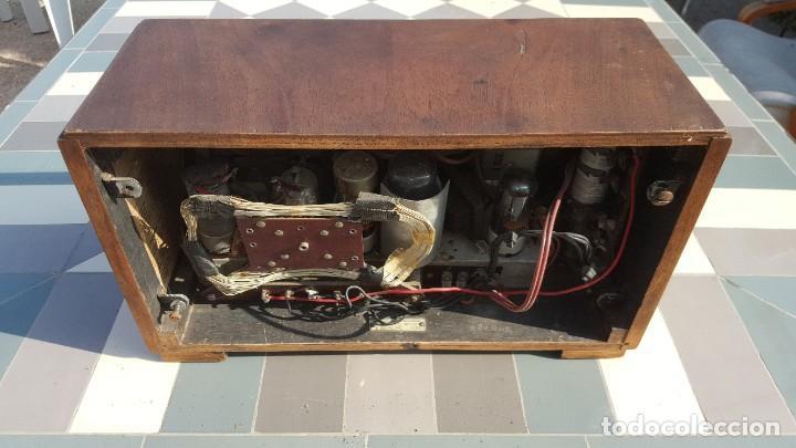 Radios de válvulas: Radio de valvulas HMV - His Masters Voice - Foto 7 - 194347331