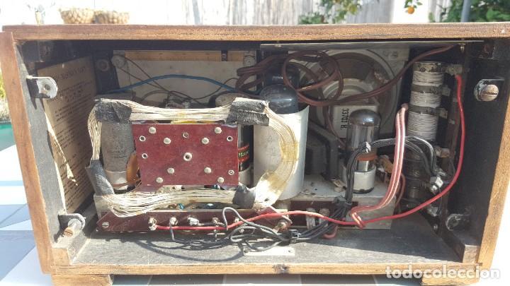 Radios de válvulas: Radio de valvulas HMV - His Masters Voice - Foto 8 - 194347331