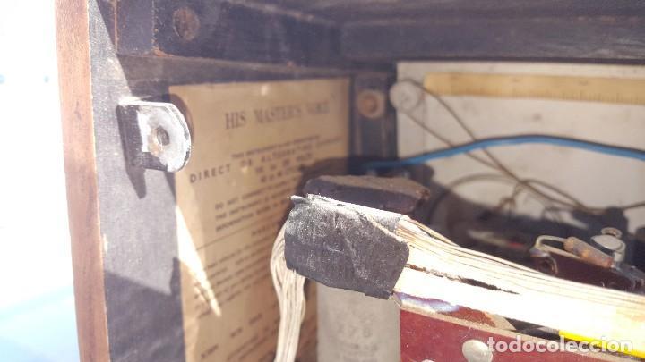Radios de válvulas: Radio de valvulas HMV - His Masters Voice - Foto 11 - 194347331