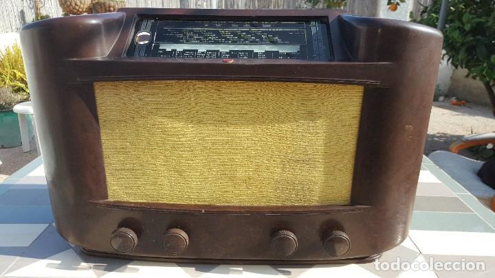 Radios de válvulas: Radio antigua de Valvulas Philips 170A-15 baquelita - Grande - Foto 2 - 194348258