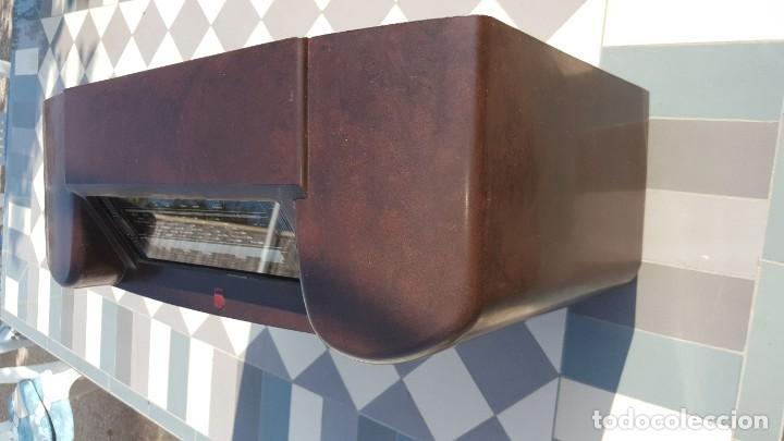 Radios de válvulas: Radio antigua de Valvulas Philips 170A-15 baquelita - Grande - Foto 4 - 194348258