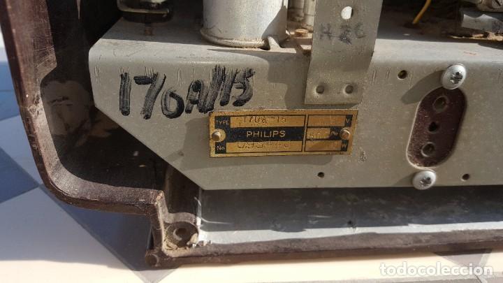 Radios de válvulas: Radio antigua de Valvulas Philips 170A-15 baquelita - Grande - Foto 10 - 194348258