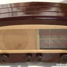 Radios de válvulas: RADIO COSSOR, MELODY MAKER, MODEL 501AG, BAQUELITA. BANDAS CORTA, LARGA Y MEDIA. Lote 194351411
