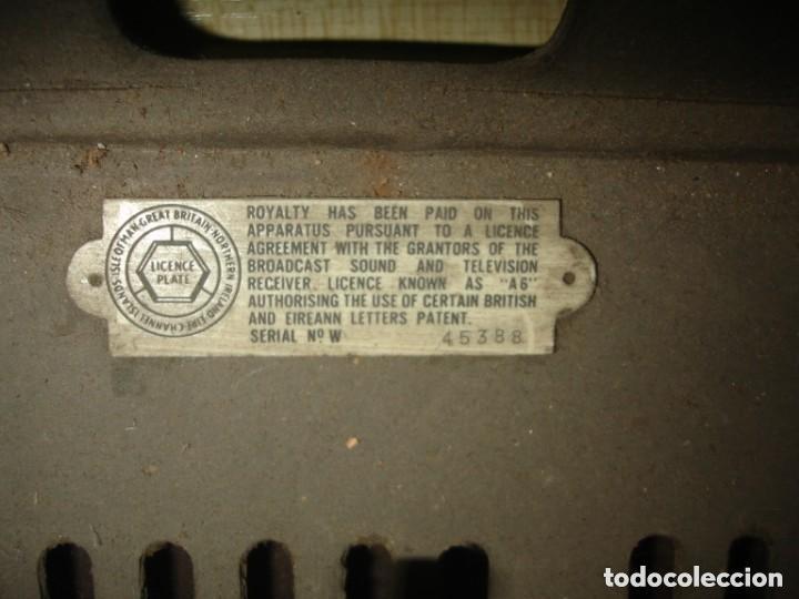 Radios de válvulas: RADIO COSSOR, MELODY MAKER, MODEL 501AG, BAQUELITA. BANDAS CORTA, LARGA Y MEDIA - Foto 4 - 194351411