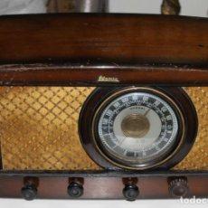 Radios de válvulas: ANTIGUA RADIO DE VÁLVULAS MARCA ATOMIC MODELO 521 PARA DECORAR. Lote 194619848