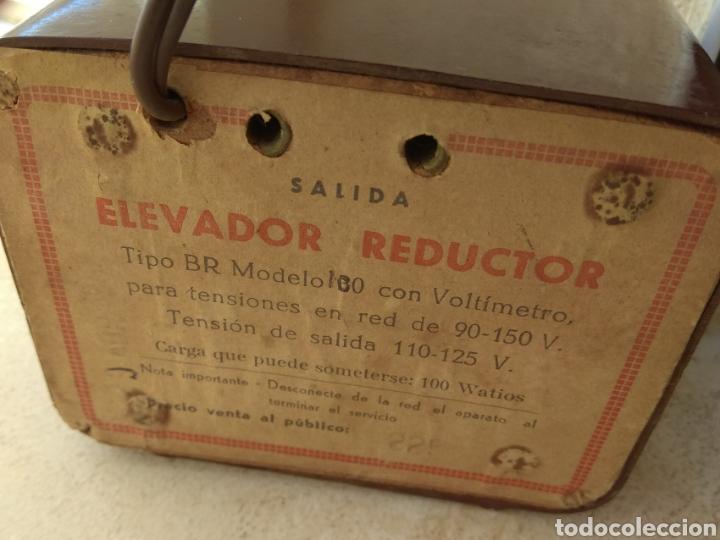 Radios de válvulas: Elevador Reductor Transformador Cespedes - Foto 8 - 111816235