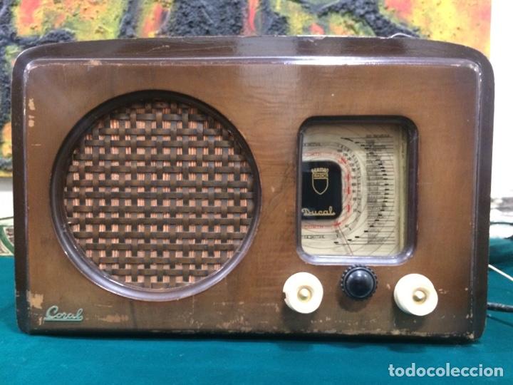 ANTIGUA RADIO DUCAL TODAS VÁLVULAS COMPLETA (Radios, Gramófonos, Grabadoras y Otros - Radios de Válvulas)
