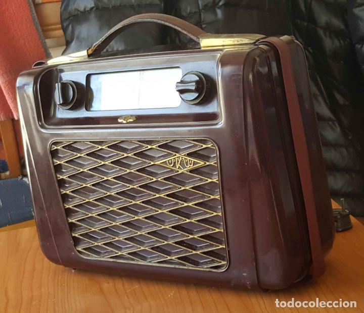 Radios de válvulas: Antigua radio KREFFT de válvulas (Alemania, 1950's) PASCHA UKW. Coleccionista. Original - Foto 2 - 194737947