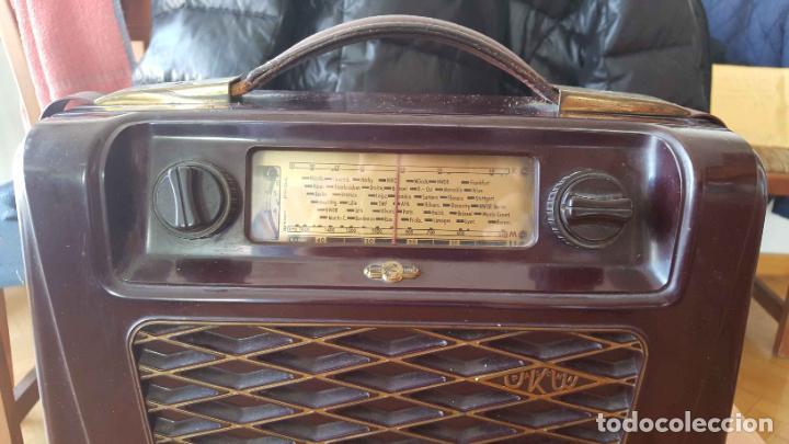 Radios de válvulas: Antigua radio KREFFT de válvulas (Alemania, 1950's) PASCHA UKW. Coleccionista. Original - Foto 3 - 194737947