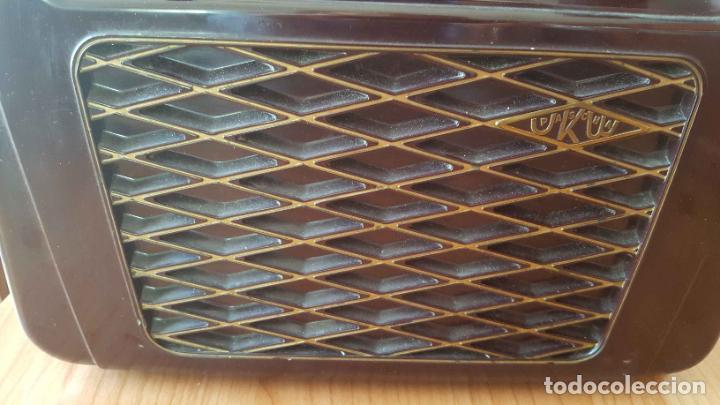 Radios de válvulas: Antigua radio KREFFT de válvulas (Alemania, 1950's) PASCHA UKW. Coleccionista. Original - Foto 4 - 194737947