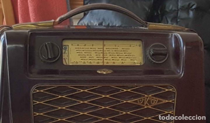 Radios de válvulas: Antigua radio KREFFT de válvulas (Alemania, 1950's) PASCHA UKW. Coleccionista. Original - Foto 11 - 194737947