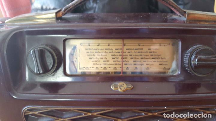 Radios de válvulas: Antigua radio KREFFT de válvulas (Alemania, 1950's) PASCHA UKW. Coleccionista. Original - Foto 13 - 194737947