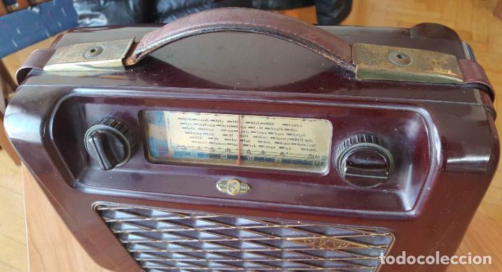 Radios de válvulas: Antigua radio KREFFT de válvulas (Alemania, 1950's) PASCHA UKW. Coleccionista. Original - Foto 14 - 194737947