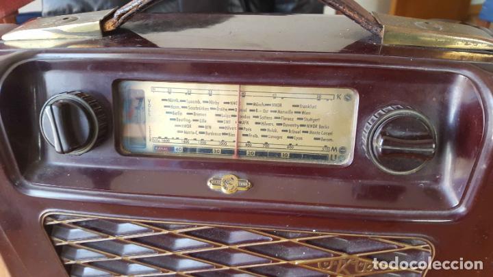Radios de válvulas: Antigua radio KREFFT de válvulas (Alemania, 1950's) PASCHA UKW. Coleccionista. Original - Foto 16 - 194737947
