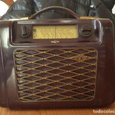 Radios de válvulas: ANTIGUA RADIO KREFFT DE VÁLVULAS (ALEMANIA, 1950'S) PASCHA UKW. COLECCIONISTA. ORIGINAL. Lote 194737947