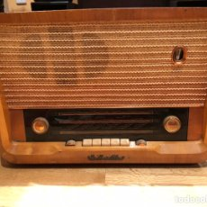 Radios de válvulas: RADIO ANTIGUA HIS MASTER´S VOICE 1138 DEL AÑO 1959/1960 BIEN CONSERVADA. Lote 194752063