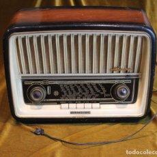 Radios de válvulas: RADIO,TELEFUNKEN,ADAGIO, AÑOS 60, COMPLETO, NO FUNCIONA. Lote 194859911
