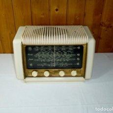 Radios de válvulas: RADIO A VALVULAS SCHNEIDER - RONDO – AÑOS 50..FUNCIONA.. Lote 194977982