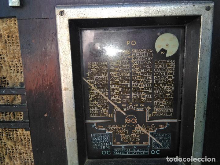 Radios de válvulas: antigua radio de valvulas funcionando - Foto 2 - 195124232