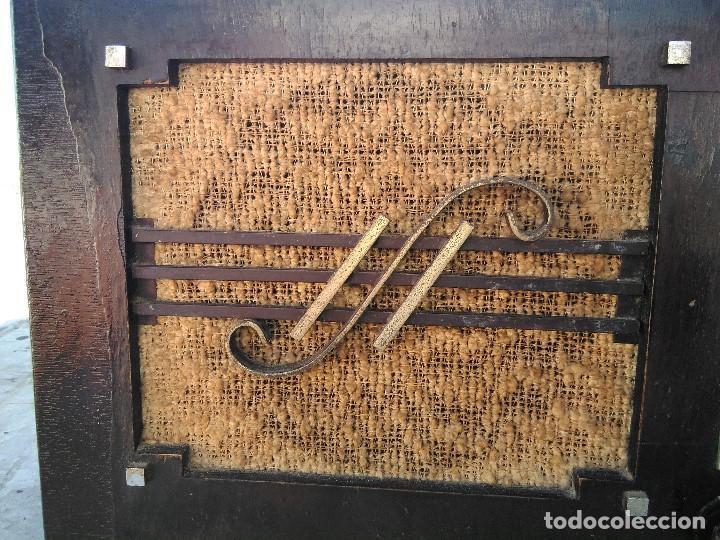 Radios de válvulas: antigua radio de valvulas funcionando - Foto 3 - 195124232