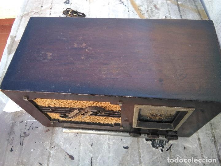 Radios de válvulas: antigua radio de valvulas funcionando - Foto 4 - 195124232
