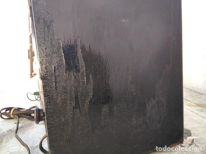 Radios de válvulas: antigua radio de valvulas funcionando - Foto 8 - 195124232