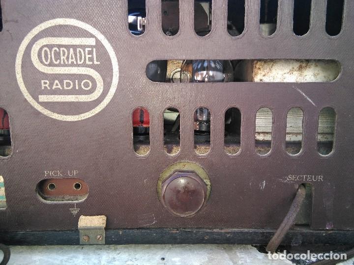 Radios de válvulas: antigua radio de valvulas funcionando - Foto 10 - 195124232