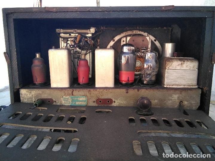 Radios de válvulas: antigua radio de valvulas funcionando - Foto 11 - 195124232