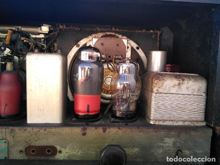 Radios de válvulas: antigua radio de valvulas funcionando - Foto 12 - 195124232