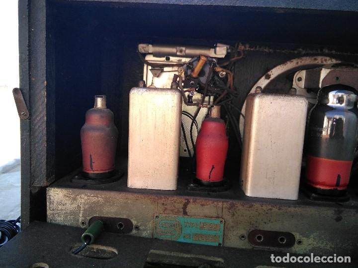 Radios de válvulas: antigua radio de valvulas funcionando - Foto 13 - 195124232