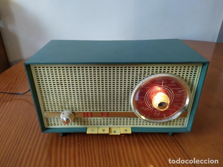 Radios de válvulas: RADIO PHILIPS funciona - Foto 2 - 195235910