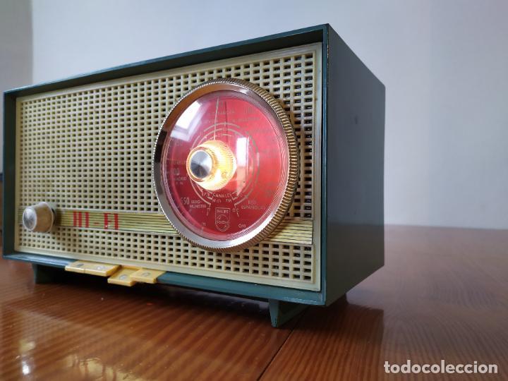 Radios de válvulas: RADIO PHILIPS funciona - Foto 3 - 195235910