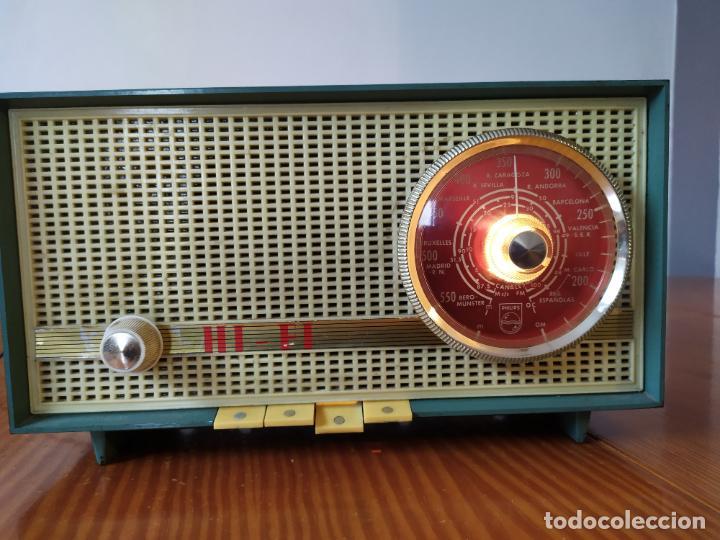 Radios de válvulas: RADIO PHILIPS funciona - Foto 4 - 195235910