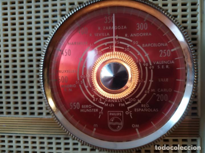 Radios de válvulas: RADIO PHILIPS funciona - Foto 6 - 195235910