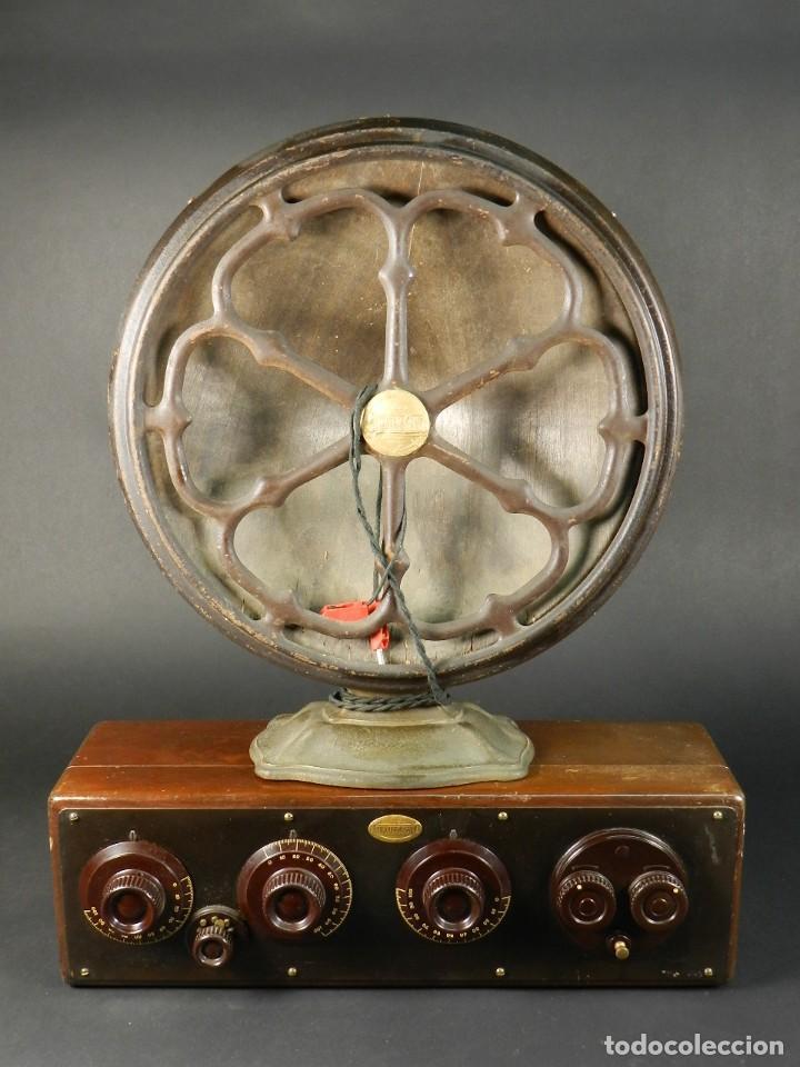 RADIO ATWATER KENT MODELO 20 + SPEAKER MOD.E AÑO 1925 (Radios, Gramófonos, Grabadoras y Otros - Radios de Válvulas)