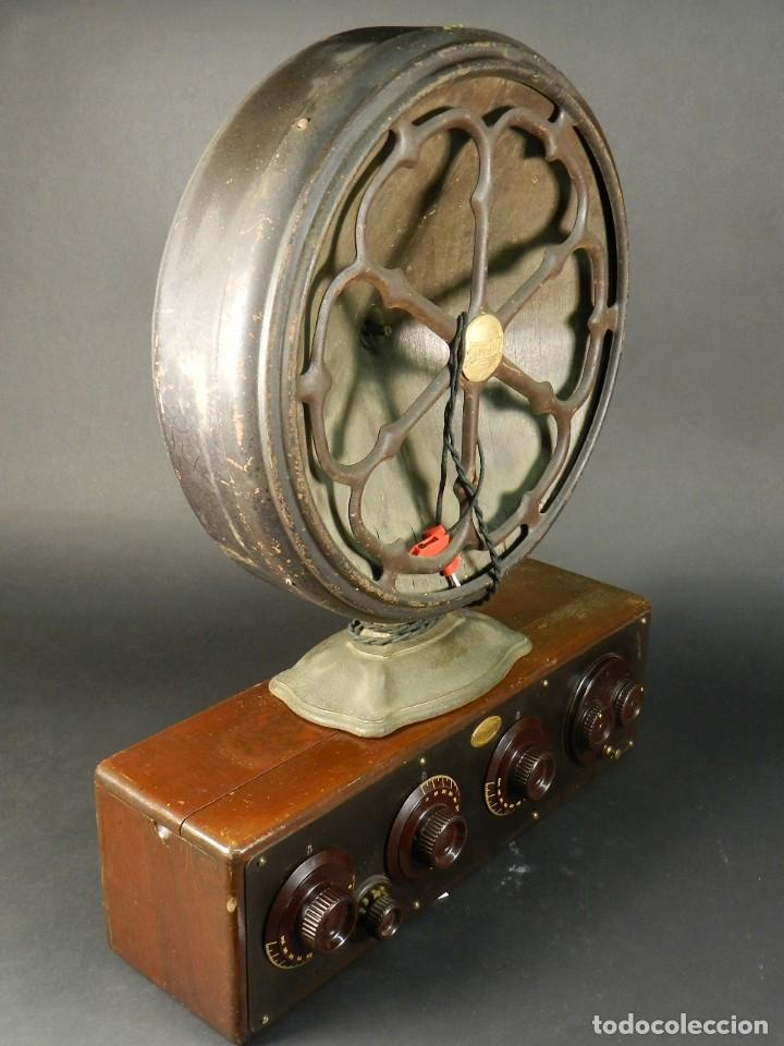 Radios de válvulas: RADIO ATWATER KENT MODELO 20 + SPEAKER Mod.E AÑO 1925 - Foto 2 - 195304227