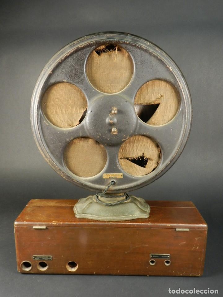 Radios de válvulas: RADIO ATWATER KENT MODELO 20 + SPEAKER Mod.E AÑO 1925 - Foto 3 - 195304227