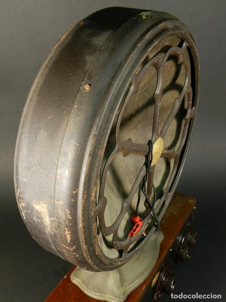 Radios de válvulas: RADIO ATWATER KENT MODELO 20 + SPEAKER Mod.E AÑO 1925 - Foto 4 - 195304227