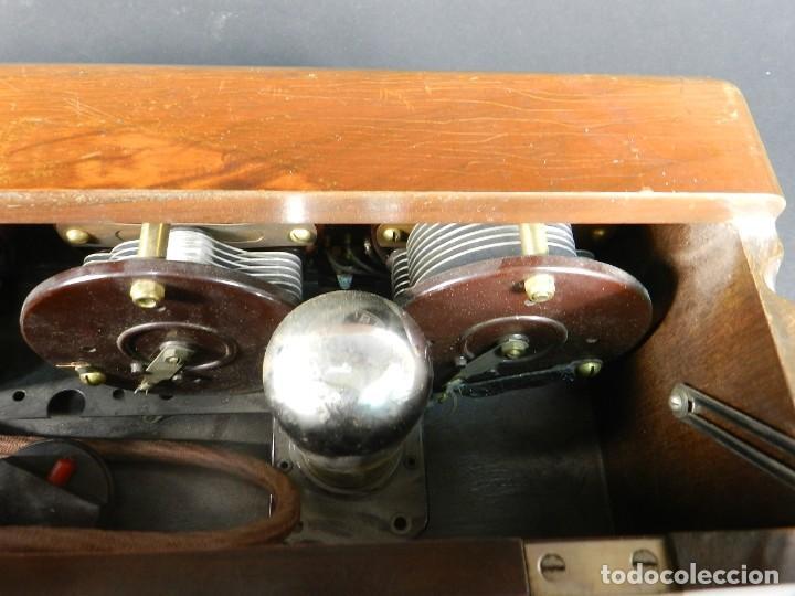 Radios de válvulas: RADIO ATWATER KENT MODELO 20 + SPEAKER Mod.E AÑO 1925 - Foto 5 - 195304227