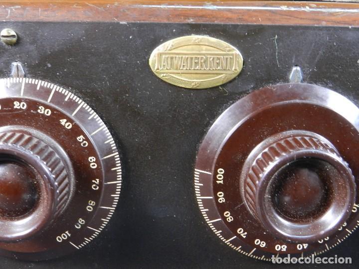 Radios de válvulas: RADIO ATWATER KENT MODELO 20 + SPEAKER Mod.E AÑO 1925 - Foto 11 - 195304227