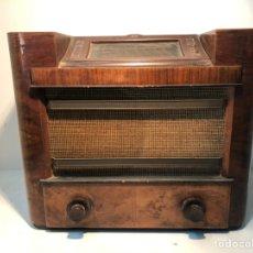 Radios de válvulas: RADIO PHILIPS ANTIGUA, MODELO AACHEN SUPER D 48 AU. AÑO 1937.. Lote 195408778