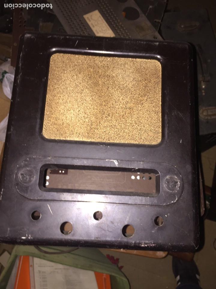 RADIO ALEMAN 2 GUERRA SOLO LA CARCASA (Radios, Gramófonos, Grabadoras y Otros - Radios de Válvulas)
