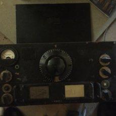 Radios de válvulas: 2 GUERRA RADIO AMERICAN NATIIONAL HRO. Lote 195444901