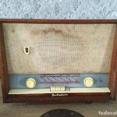 Radios de válvulas: RADIO ALEMANA POLSDAM DKII. AÑO 1958/1959.SIN CABLE.. Lote 196020341