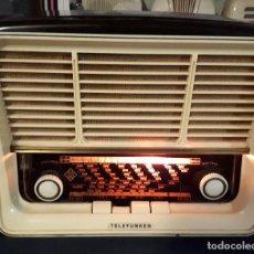 Radio a valvole: RADIO TELEFUNKEN RONDALLA U-1535 FUNCIONANDO CORRECTAMENTE. VER VIDEO.. Lote 197071276