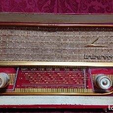 Radios de válvulas: RADIO DE VALVULAS UNIVERSON MODELO XXX-P. Lote 197124856
