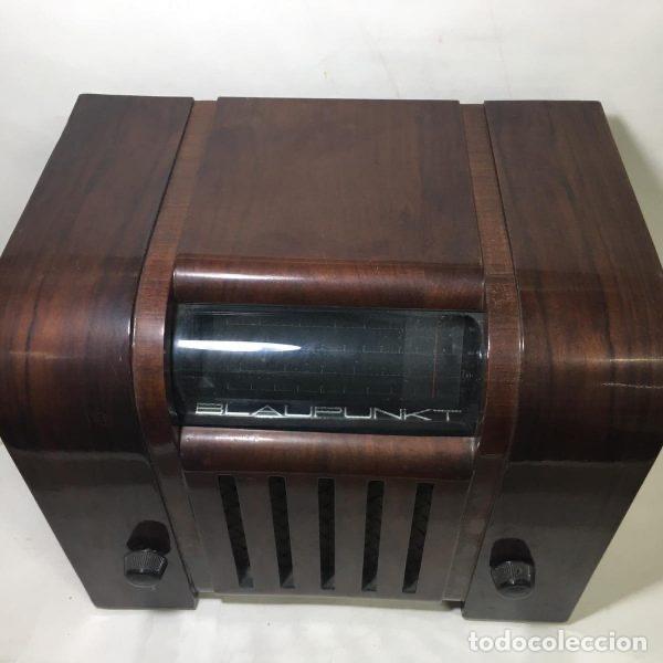Radios de válvulas: Antigua Radio Super 4W6 By Blaupunkt Berlín-Alemania 1934/1935 de gran uso en Alemania durante la Se - Foto 4 - 189736133