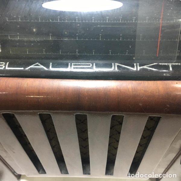 Radios de válvulas: Antigua Radio Super 4W6 By Blaupunkt Berlín-Alemania 1934/1935 de gran uso en Alemania durante la Se - Foto 7 - 189736133