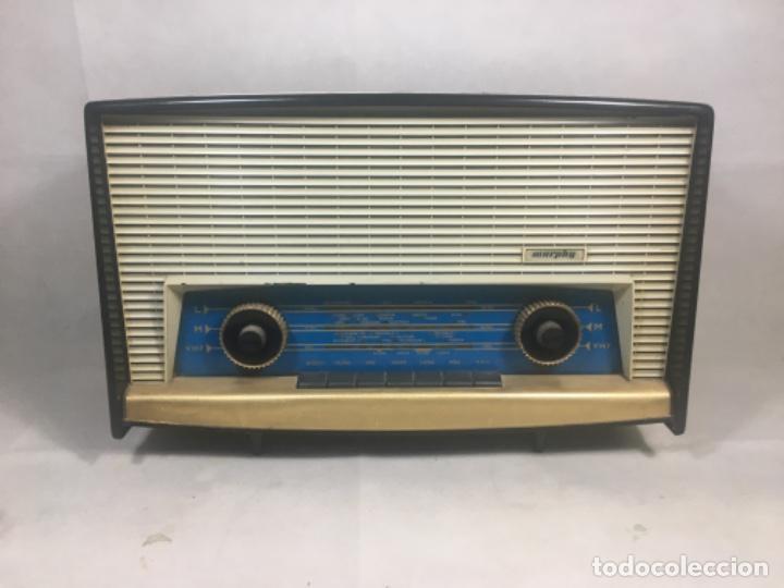 Radios de válvulas: Radio MURPHY U506. Gran Bretaña 1959. Funcionando - Foto 2 - 102799496